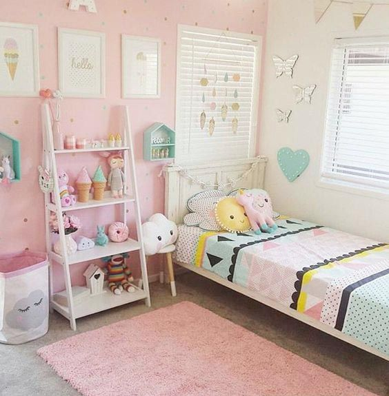 Pin by dolcevinilo on habitaciones infantiles in 2019 - Decoracion habitacion infantil nina ...
