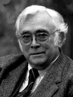 """Josef Škvorecký (Czechoslovakia/Canada): """"Artists hold out the mirror to the bruises on the face of the world."""" Neustadt Laureate 1980."""