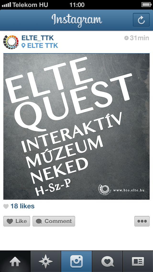 ELTE Instagram