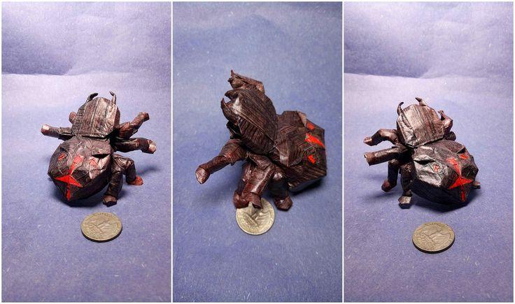 Spider Dog-face) Chenshu by Origami Fan @Daniel