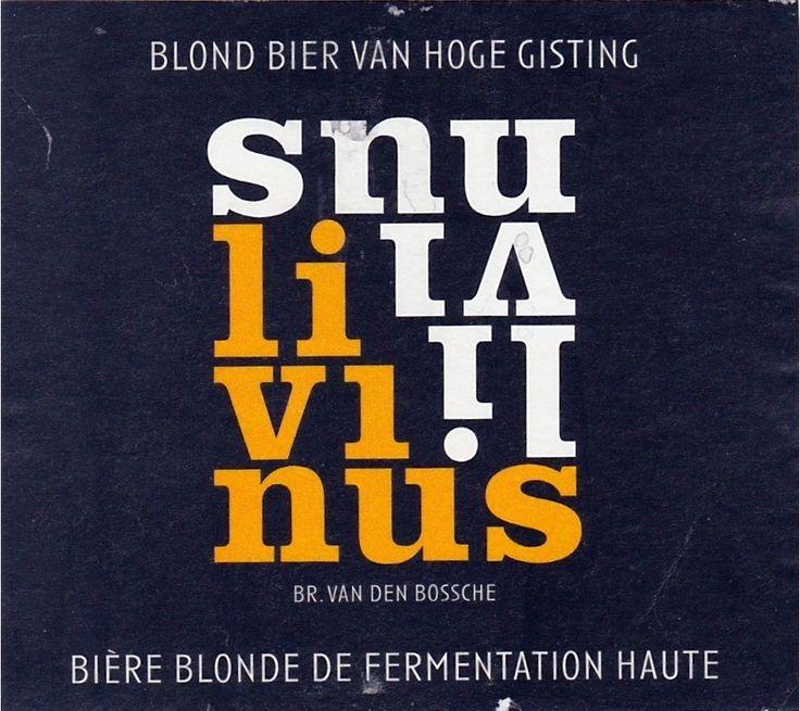 Van Den Bossche Livinus, Golden Ale/Blond Ale 5,2% ABV (Van Den Bossche, Bélgica) #label