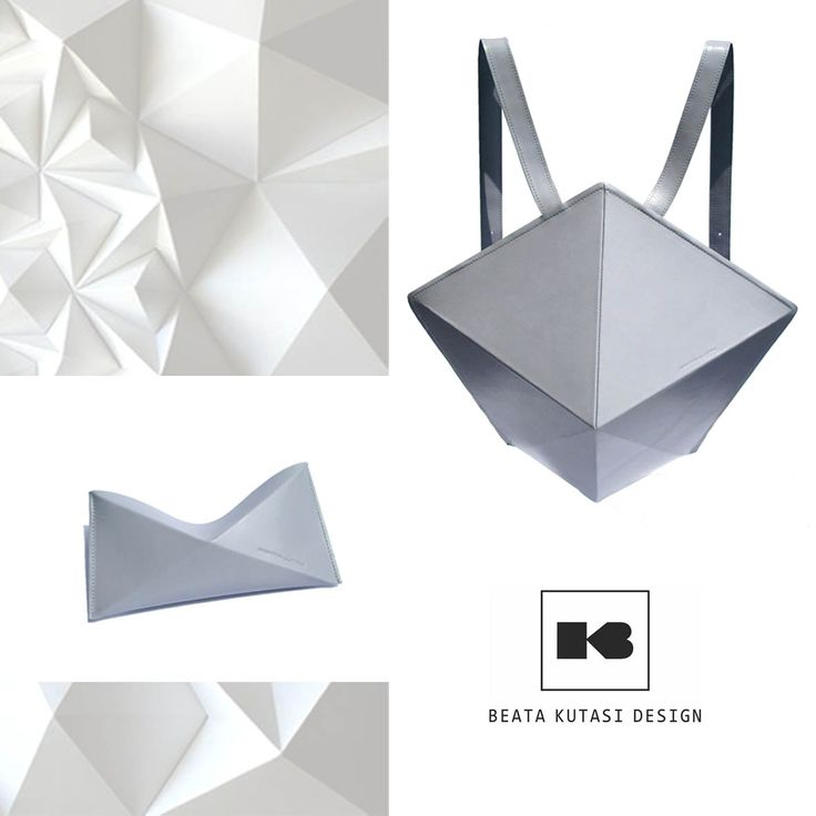 Geometric backpack