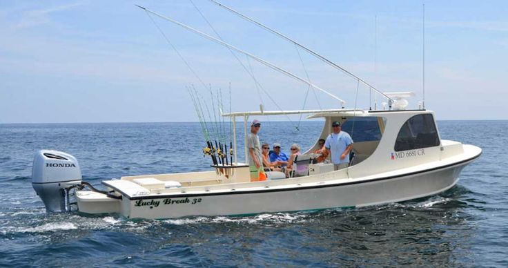 Lucky break inshore fishing charters call jason at 443 for Ocean city fishing charters