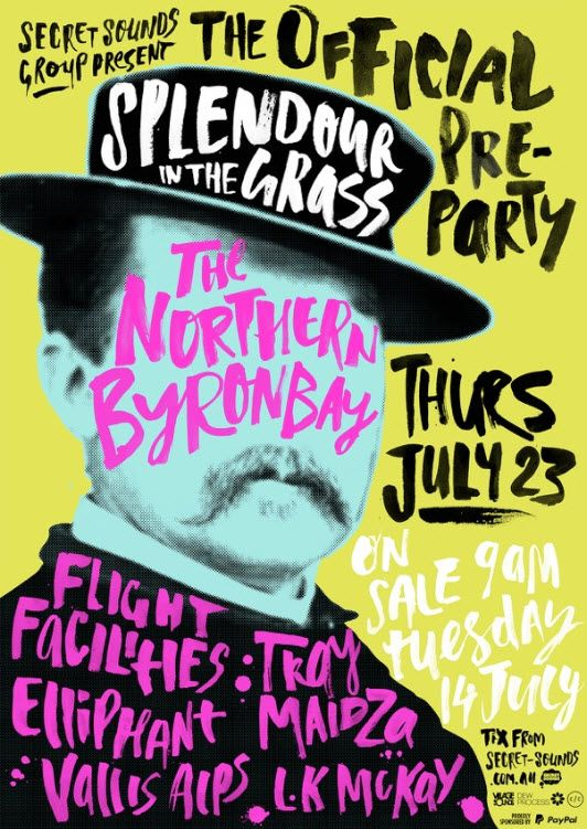Buy THE OFFICIAL SPLENDOUR IN THE GRASS PRE-PARTY tickets, NSW 2015 | Moshtix
