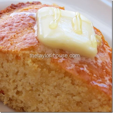 Sweet Honey Corn Bread Recipe - this sounds awesome, real ingredients