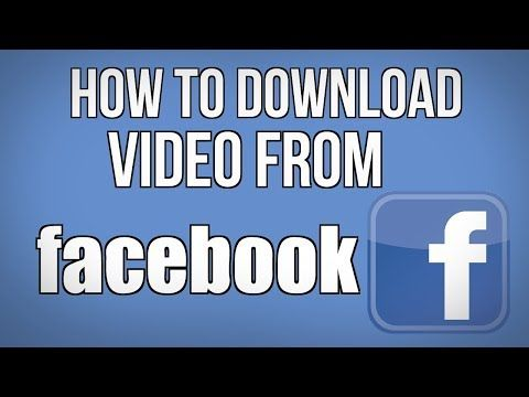 How to Download Video For Facebook  best Andriod App - (More Info on: http://LIFEWAYSVILLAGE.COM/videos/how-to-download-video-for-facebook-best-andriod-app/)