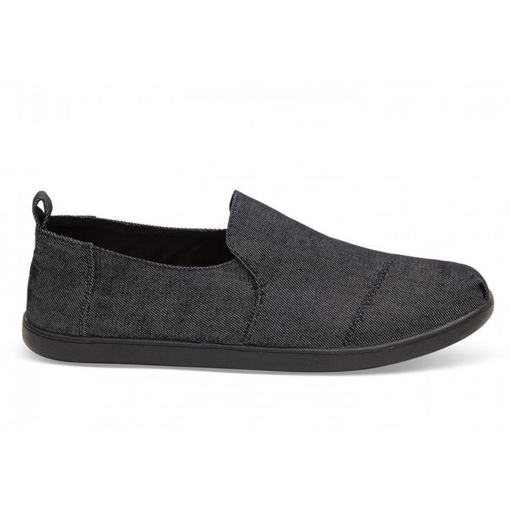 john-andy.com | Toms Black Denim Washed Canvas Decnalp Alpargata Ανδρικά 10009874