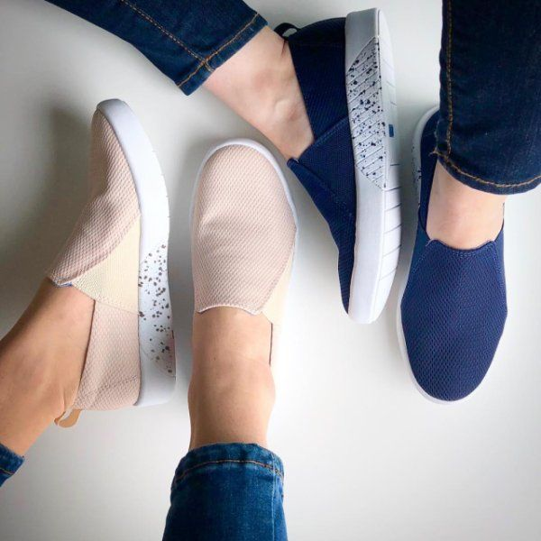 Laid back or on the move - these sneaks got us covered  .  .  .  #kedsstyle #ladiesfirst #keds #sneakers #studio #liv #fashion #style #ootd #shoesoftheday #shoes #shoestagram #shoelover #👟#sneakeraddict #shoeaddict #slipon #blue #pink #mesh