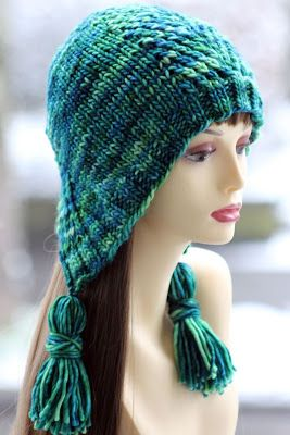 She's A Betty Bonnet: made with size US 10.5 & 11 needles and 130 yards of chunky weight yarn
