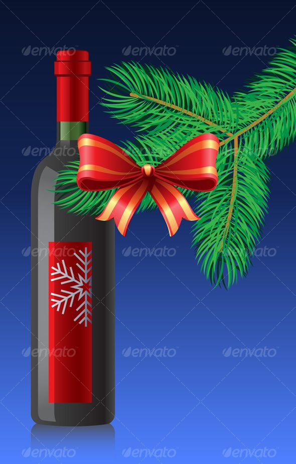 VECTOR DOWNLOAD (.ai, .psd) :: http://jquery-css.de/pinterest-itmid-1000069880i.html ... Red wine bottle ...  anniversary, bottle, cap, christmas, eve, fir, glass, happiness, holiday, party, present, ribbon, snowflake, wine, winter  ... Vectors Graphics Design Illustration Isolated Vector Templates Textures Stock Business Realistic eCommerce Wordpress Infographics Element Print Webdesign ... DOWNLOAD :: http://jquery-css.de/pinterest-itmid-1000069880i.html