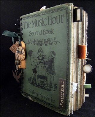 Altered book projects-- great blog, lots of pictures of the inside pages!