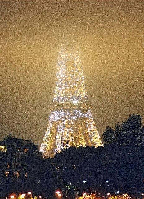 Paris~ beautiful even in the fog.