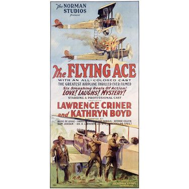 The Flying Ace Movie Wood Sign
