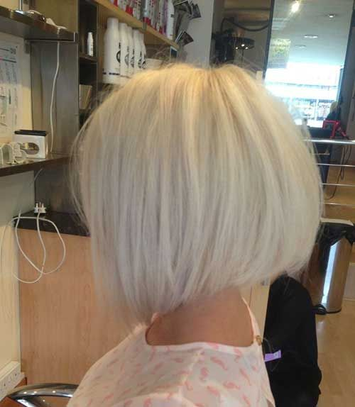 White Blonde Bob Hairstyles | Bob Hairstyles 2015 - Short Hairstyles for Women