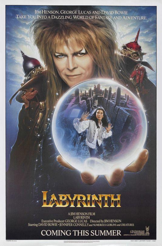 Labyrinth; 1986; David Bowie, Jennifer Connolly; 10/10