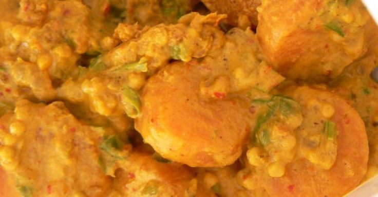 Curry Indien de carottes