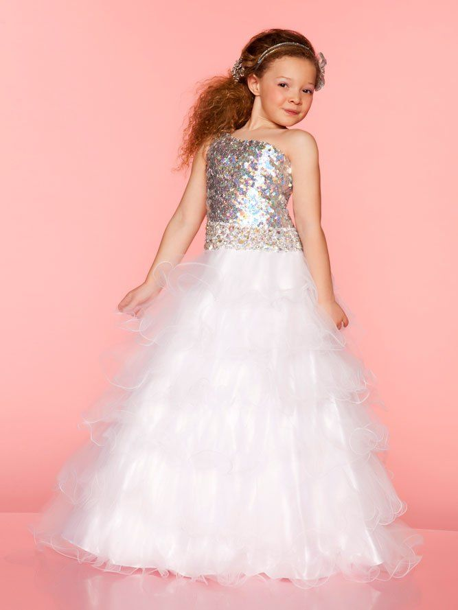 Pageant Dresses For Girls | ... Pageant Dress Gown Custom Flower Girl Dresses Size 6.8.10.12.14.16