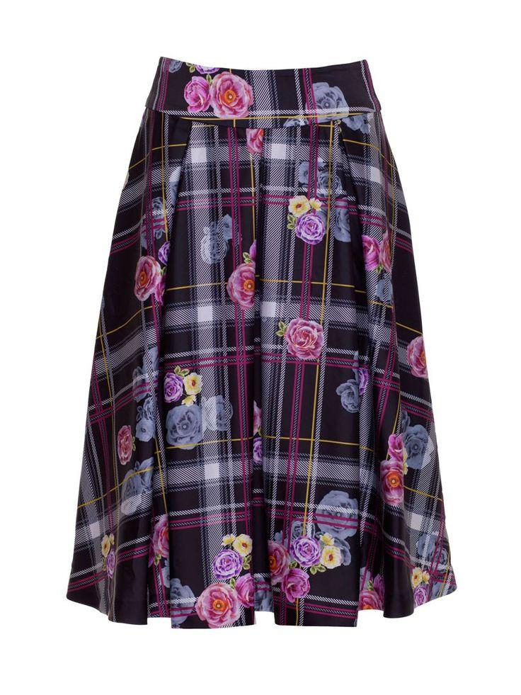Review Australia   Bonita Skirt Black/oyster