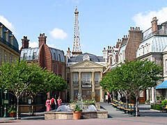 Orlando Florida Disneyworld's Epcot Center World Showcase - Disney's version of France