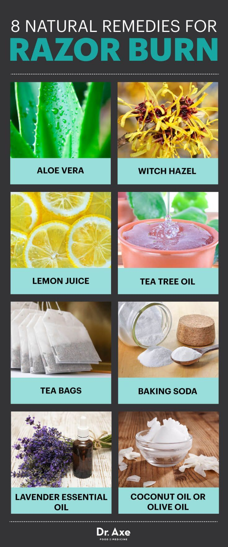 Razor burn remedies - Dr. Axe http://www.draxe.com #health #Holistic #natural