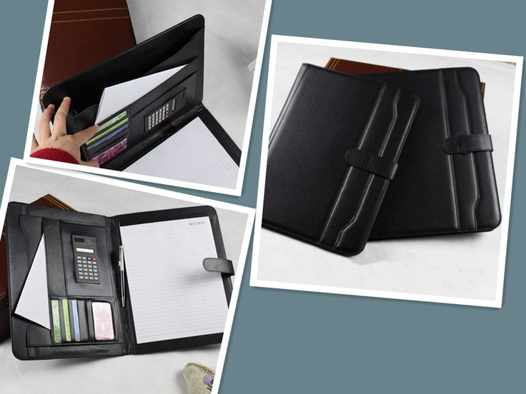 12 best leather portfolio, conference folder, leather padfolio - resume holder