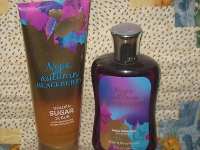 cool Bath & Body Works Napa Autumn Blackberry Lot X2 Shower Gel & Golden Sugar Scrub - For Sale View more at http://shipperscentral.com/wp/product/bath-body-works-napa-autumn-blackberry-lot-x2-shower-gel-golden-sugar-scrub-for-sale/