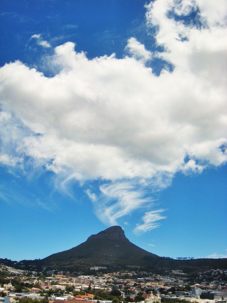 Lions head cloud formation