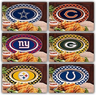 NFL-Ceramic-Game-Day-Platter-Cowboys-Steelers-Giants-Packers-Bears-Colts