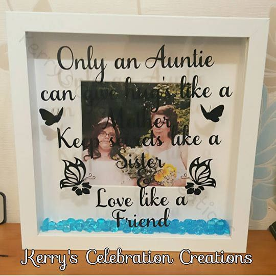 Auntie photo frame -only an Auntie can give hugs like a mother by KerrysCC on Etsy