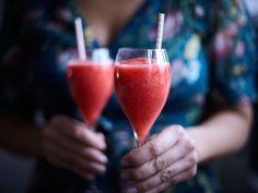 Frossé - drink med rosévin och jordgubbar | Recept från Köket.se