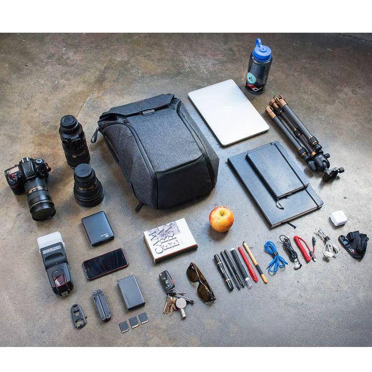 #PeakDesign Everyday #Backpack.Perfekt für urbane #Fototouren oder für den privaten und beruflichen #Alltag Viel #Stauraum, hoher Tragekomfort, schneller Zugriff auf den Inhalt! #Fotografie #Reisefotografie #Landschaftsfotografie #Naturfotografie