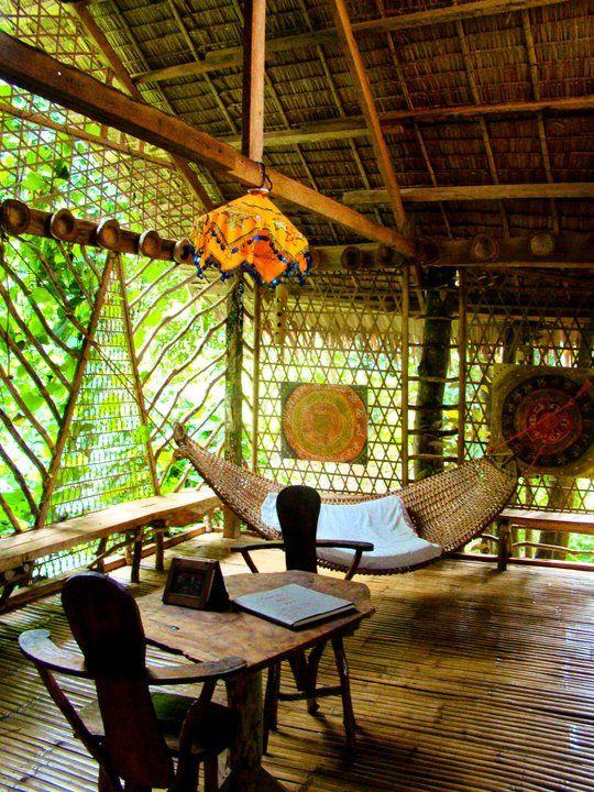 Enigmata treehouse camiguin island philippines for Filipino inspired interior design