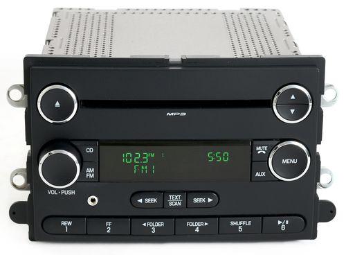 Ford Taurus 08-09 Mercury Sable Radio AM FM CD w iPod Aux Input - 8G1T-18C869-BA