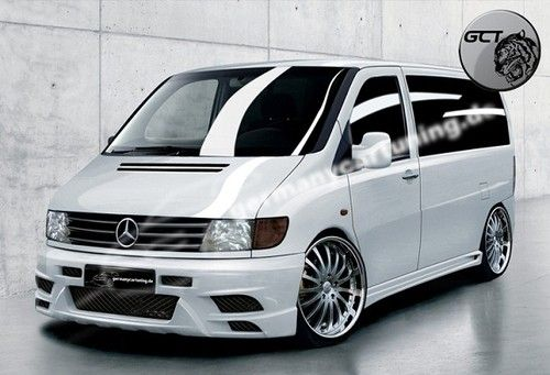 Mercedes Vito V Klasse W638 Spoiler Set Body Kit Tuning Umbau neu Verbau