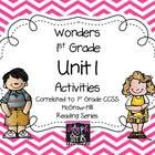 The Glyph Girls have created this 77 page product to supplement the McGraw-Hill Wonders Reading Series, Unit 1. Activities target specific phonics ...