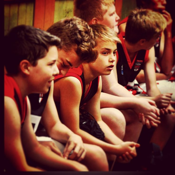 This is an image of my junior football club, St.Kilda City. It is inspirational because when I look into this photo I see a team that I want to do well for and give my all to
