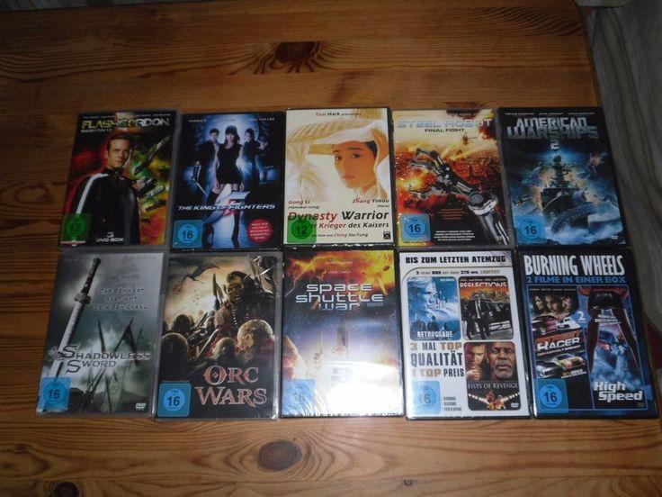 """10 DVD FILME (  Action )     """"OVP/NEU""""   Für Action Film Liebhaber"""