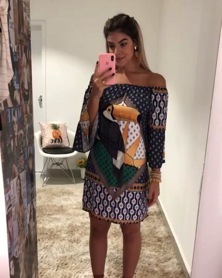 """159 curtidas, 18 comentários - www.usefolk.com.br ( usefolk) no Instagram   """" Paixão Define Dress leve e Soltinho para aqueles dias que vc se sentir  Leve e ... 991151de6a"""