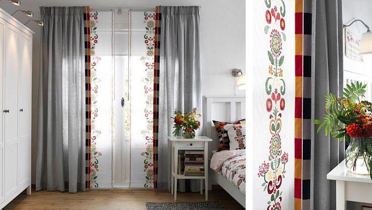 adelaparvu.com despre draperie panou Akerkulla 59,99 lei, piese ieftine si bune de la IKEA, colectia 2015 (2)