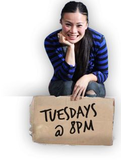 Poh Ling Yeow- WOW!! http://www.abc.net.au/tv/pohskitchen/about/ So down to earth, talented and specifically Asian! www.delivinotamborine.com