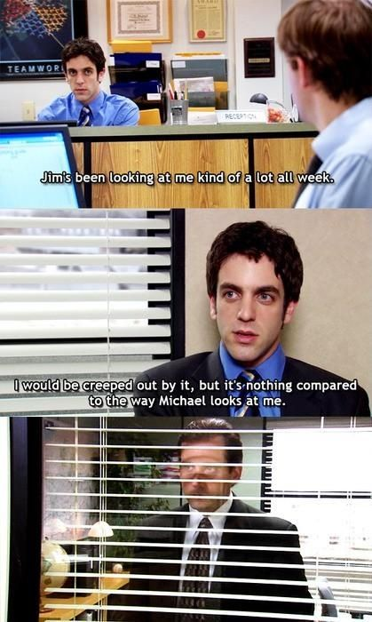 My favorite scene ever. The Office