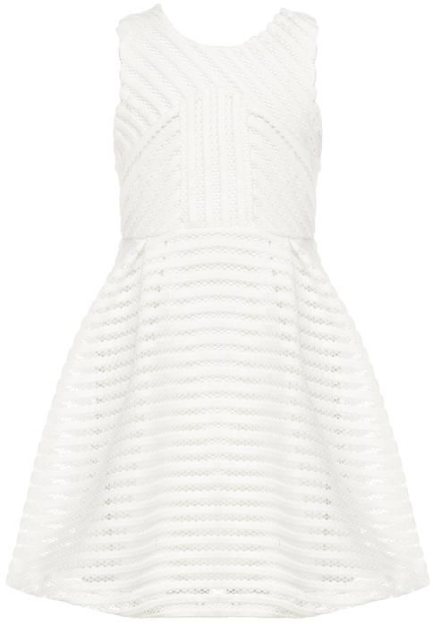 No stripesl say's Immy bardot junior GIRLS CUT OUT VERTICAL DRESS