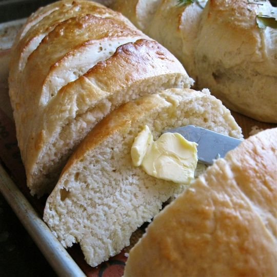 """I made this tonight 4/22/13 and it was FAST and so delicious!!  Crusty french bread in """"under an hour"""" it took me 1 hour 15 min. I used 2 packets yeast and honey instead of sugar & used Kitchenaid mixer with dough hook. Made 2 large loaves"""