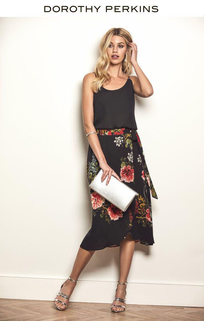 3 Ways to Wear the Midi Skirt