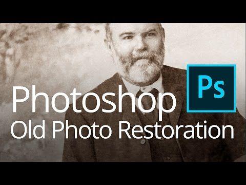 Photoshop Old Photo Restoration (Live Streamed) - YouTube