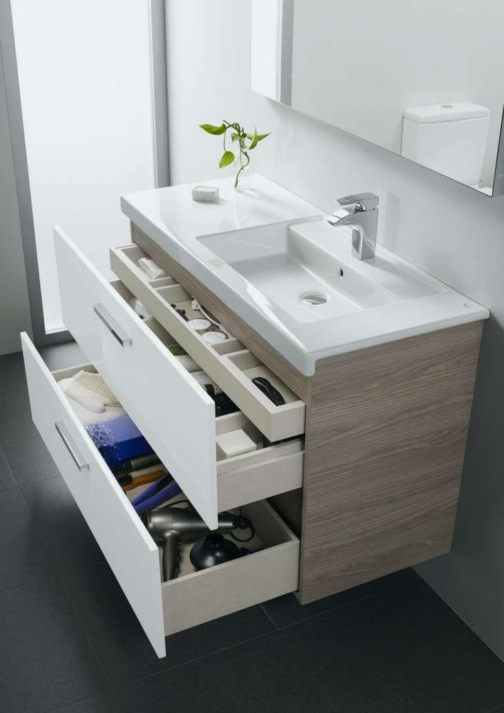 12 Fly Salle De Bain Small Bathroom Vanities Bathroom Drawer Storage Modern Bathroom Vanity
