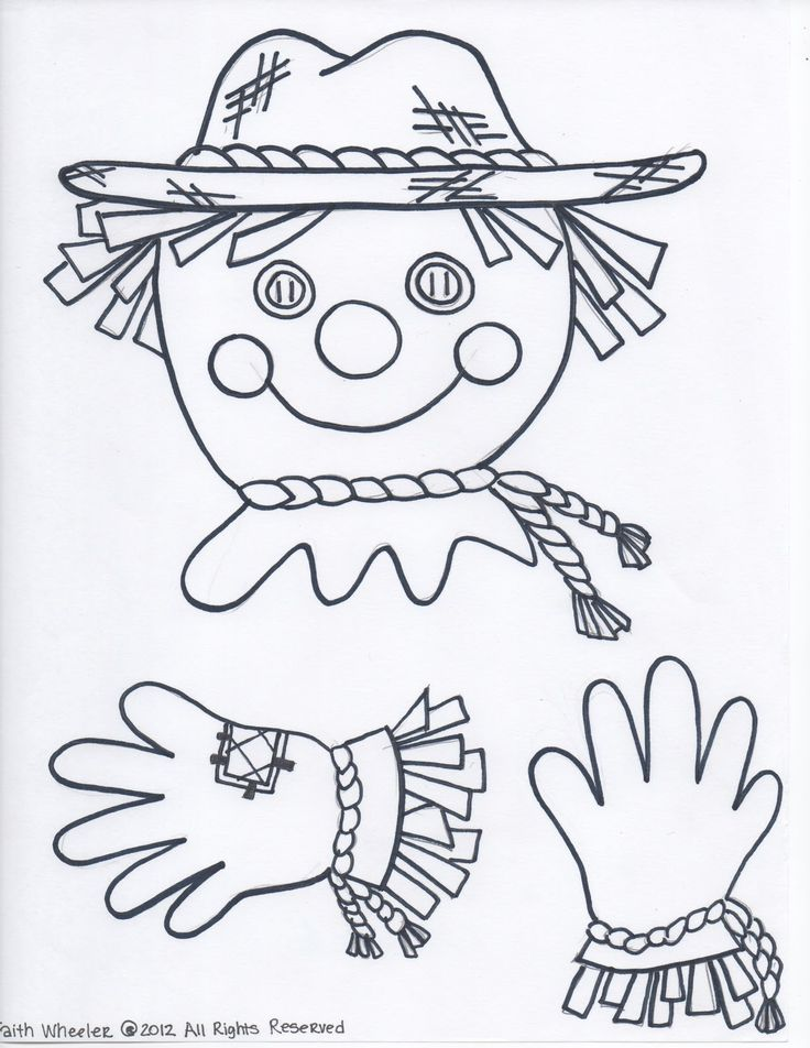 Free Scarecrow (Created to hold a paper)  @Kelle Sloan