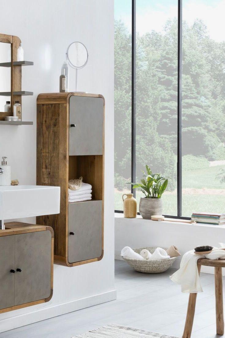 33 Billig Badezimmer Klein Diy In 2020 Hochschrank Badezimmer Mobel Betonoptik