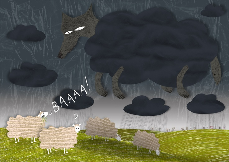Mat Cross: 'A wolf in sheep's clothing...'  #illustration