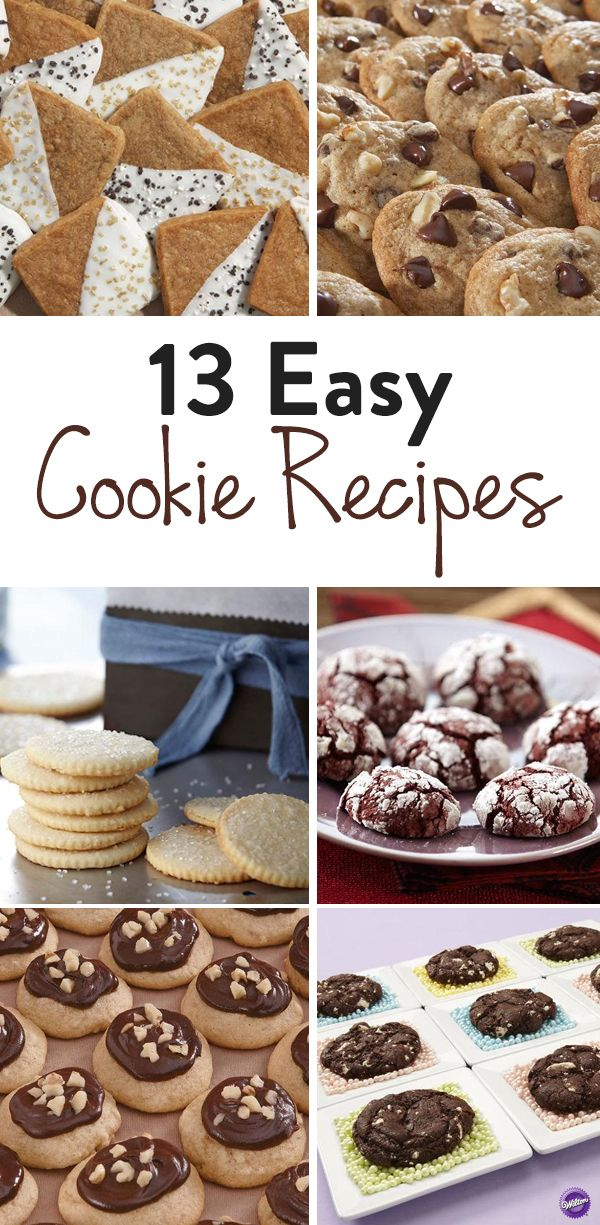 13 Easy Cookie Recipes - Do you love cookies? Check out these 13 easy cookie recipes for you to try from the classic chocolate chip cookies to the exotic like the toasted coconut cookies!